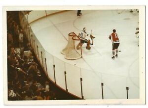 Chicago Blackhawk original photo / Eric Nesterenko / Blackhawks vs Blues- 1970's