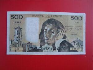 500   FRANCS   PASCAL  1977   E 87