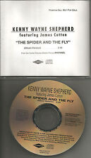 KENNY WAYNE SHEPHERD w/ JAMES COTTON spider and Fly PROMO DJ CD ROLLING STONES