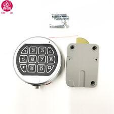 Safe Electronic Lock LA GARD LG Basic Swing Bolt Gun Any Safe Chrome Repl S&G
