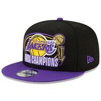 Los Angeles Lakers New Era NBA 2020 Champs 2 Tone 9FIFTY Snapback Hat - Black