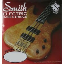 Ken Smith AA-SRL Slick Round Electric Bass Strings, Light (40-103) +Picks