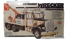AMT Peterbilt Wrecker Tow Truck 1/25 6667 (Vintage) (FACTORY SEALED) FREE SHIP!