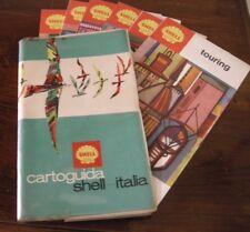 CARTOGUIDA SHELL ITALIA + 6 GUIDE INTERNE - ANNI 70 !!!
