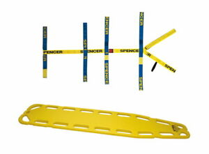 Spineboard XTRA mit Gurtspinne Spider Strap (für Feuerwehr Rettungsdienst THL)