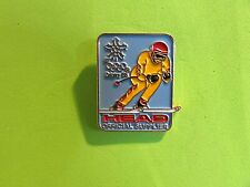 1988 Calgary Winter Olympics Head Official Supplier Pin