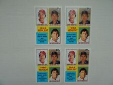 Johnny Bench Carl Yastrzemski Gaylord Perry 1983 Topps Super Star Highlights 4x
