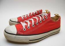 MENS VINTAGE CONVERSE ALL STAR MADE IN USA RED LOW CHUCK TAYLOR SHOES SZ 10