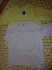 ESSENCE SIZE 22/24 GREEN/LILAC T-SHIRTS BUNDLE ONE BNWT