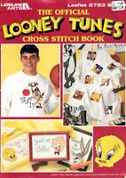 The Looney Tunes Cross Stitch Book Official Patterns Vintage 2723 Leisure Arts