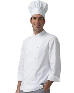 Giacca Da Cuoco Divisa Per Chef Alberghiero Scuola Ristorante Masterchef Cotone
