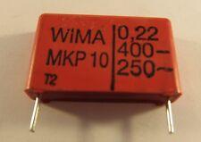 10 pezzi - 0,22µf (220nf) 400vdc WIMA mkp10 RM 22,5mm - ae29/5741 - 10pcs