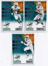 2016 MIAMI DOLPHINS 40 Card Lot w/ CONTENDERS Team Set 27 CURRENT Players