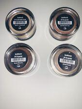 Bare Minerals LOT OF 4 mini eyeshadows SPF 20 .02 ounces. 1shimmer 3 matts