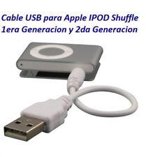 Cable USB Apple iPod Shuffle 1G 2G Cargador Sincroniza Datos Jack PC MP3 MP4