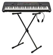 Yamaha PSR-E263 Keyboard Set 61 Tasten 400 Klangfarben Ständer Kopfhörer AUX IN