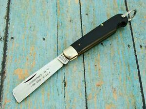 VINTAGE 1978 LTD 1/250 CAMILLUS USA CHRISTMAS EASY OPEN ROPE POCKET KNIFE KNIVES