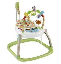 Fisher- CHN38 Rainforest Spacesaver Jumperoo Portable Baby Chair and Bounce