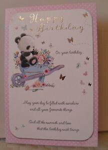 OPEN BIRTHDAY CARD FEMALE