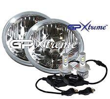 "GP XTREME H4 9003 LED CREE Light + 7"" Round Seal Beam H6024 / H6017"