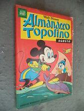 ALMANACCO TOPOLINO #   8 - AGOSTO 1968 - MONDADORI