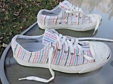 CONVERSE Jack Purcell Low Top Unisex Shoe / Textile Upper / Men 7.5 / Women 9