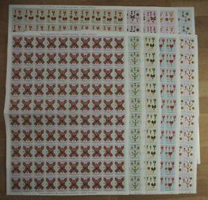 1967 Angola; 100 Serien Orden, MiNr. 544/53, postfrisch/MNH, ME 600,-