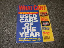 WHAT CAR ?   MAGAZINE   SEPTEMBER     1991    ENGLISH MONTHLY