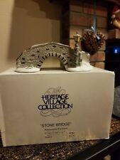 Stone Bridge- Heritage Village Collection -Mib - Dept 56 - Item #6546-3