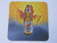 BEER Brewery COASTER: LABATT Brewing ~ Canadian Light ~ Taste Like Beer ~ Canada