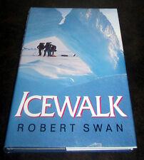 ICEWALK Robert Swan POLAR ARCTIC EXPEDITION 500 MILES NORTH POLE ICE POLAR BEARS