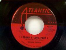 """WILSON PICKETT """"I FOUND A LOVE / PART 2"""" 45"""