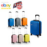 Small 4 Wheel Suitcase Travel Cabin Bag Carry On Hand Luggage Hard Case