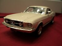 Welly 1967 Ford Mustang GT 1/24 scale new no box  white exterior
