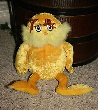 "The Lorax Dr. Seuss Kohls Cares for Kids Yellow Plush 16"" Super Soft Toy C9"
