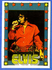 1978 Monty Gum ELVIS PRESLEY card from Holland (blank back)              o