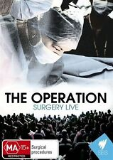 THE OPERATION SURGERY LIVE DVD BRAND NEW DVD SBS
