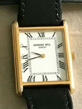 raymond weil mens watch 576872 18k gold electroplated