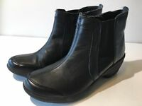 Easy Spirit Explore24 Brenley Wedge Ankle Boots (1114,1115, 1116) Black Leather