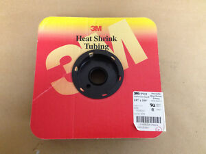 "3M Polyolefin Heat Shrink, FP301, 1/8"" x 100' Lot Of 100FT. (Spool Not Included)"