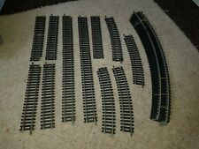 OO Gauge Lima Steel Track job lot, long and short straights & curves