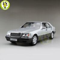 Defective Model 1/18 Benz S600 W140 V12 Diecast Metal Model car toys