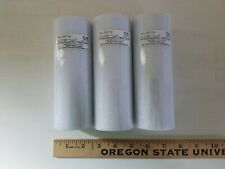 """New LOT OF 3 Spools of Glitter Tulle Rolls Net Fabric 6"""" x 12 yds each WHITE"""