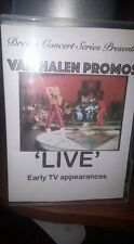 Dream Concert Series Presents: Van Halen Early TV Promos  DVD w/ David Lee Roth