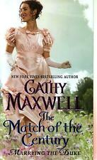 Cathy Maxwell  The Match Of The Century     Historical Romance Pbk NEW Book