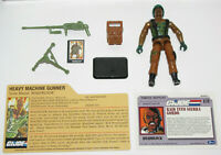 Vintage 1984 GI Joe ROADBLOCK (V1) - Complete EXCELLENT Condition w/BONUS EXTRAS