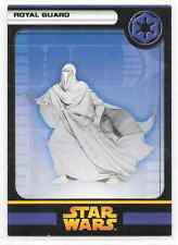 2005 Star Wars Miniatures Royal Guard Stat Card Only Swm Mini