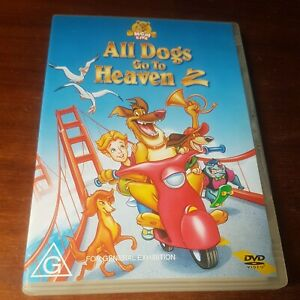 All Dogs Go To Heaven 2 (DVD, 1996) Charlie Sheen, Dom DeLuise -  Region 4
