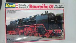 Revell 2162 Schnellzug-Lokomotive Baureihe 01 Bausatz H0 1:87 NEU in OVP