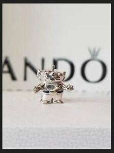 New Genuine Authentic Silver PANDORA Alien Toy Story Disney Charm S925 ALE
